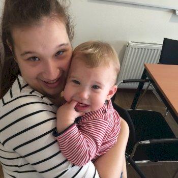 Wendy - werkt als huishoudelijke hulp in Heerenveen